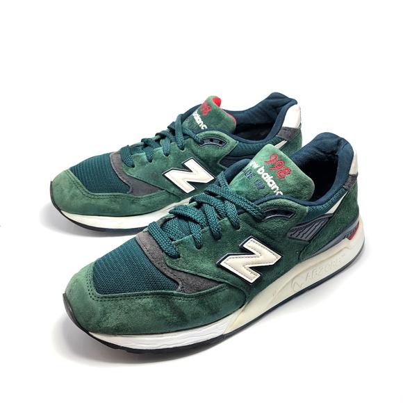 New Balance 998 Men Sz 9d Deep Green